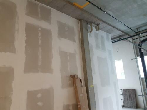 Neue Baustelle Cilag AG